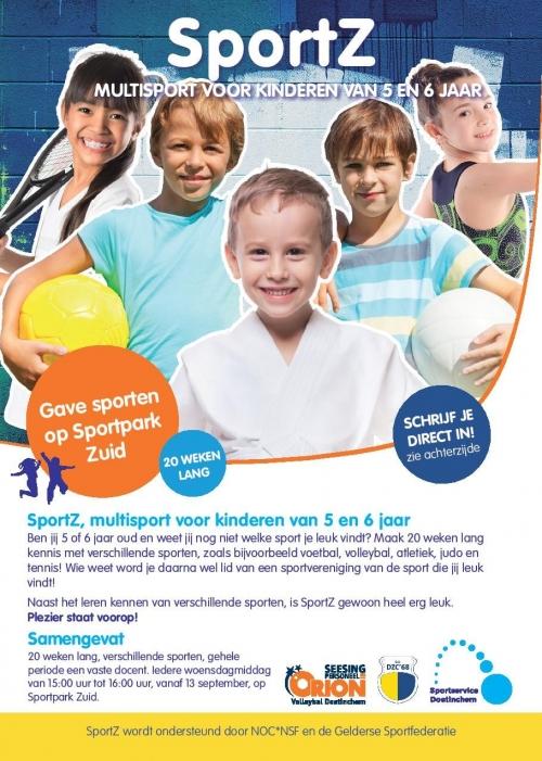 SportZ, Multisport voor kinderen van 5 en 6 jaar