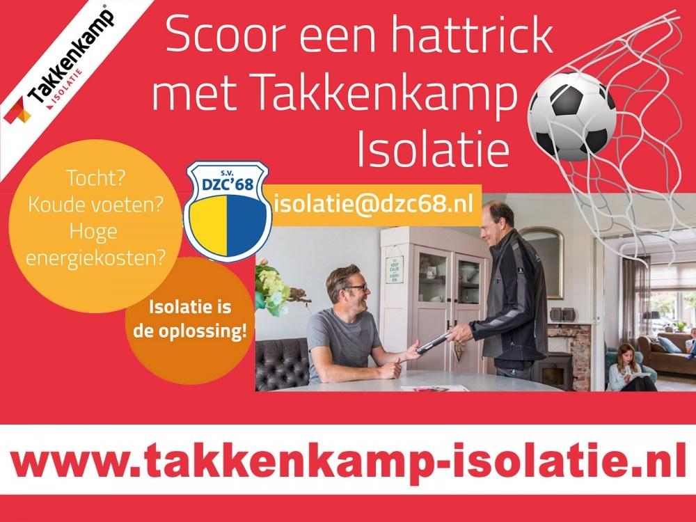 Clubbonus bij ASG Autoschade Gelderland en Takkenkamp Isolatie