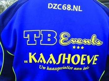 TB Events en Kaashoeve Ralph teamsponsor DZC'68  11