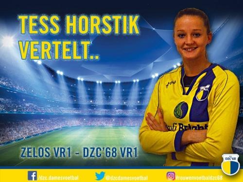 Tess Horstik vertelt over Zelos VR1 – DZC'68 VR1