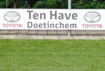 Automobielbedrijf Ten Have Doetinchem nieuwe bordsponsor bij DZC'68