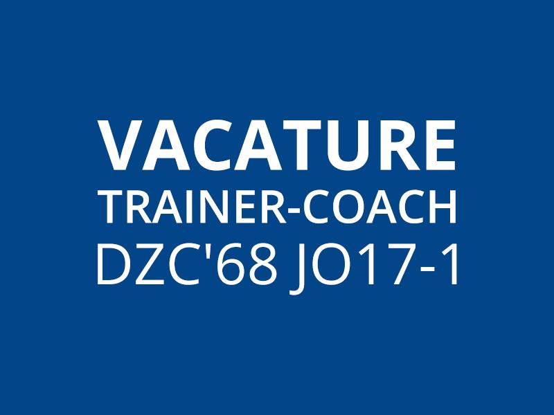 Vacature trainer-coach