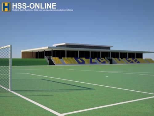 Holland Sport Systems BV plaatst tribunestoelen DZC'68