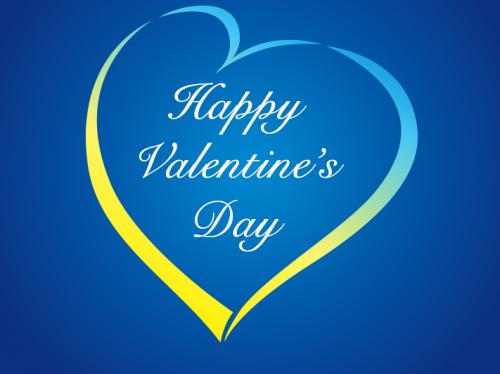 Een valentijns groet van ons