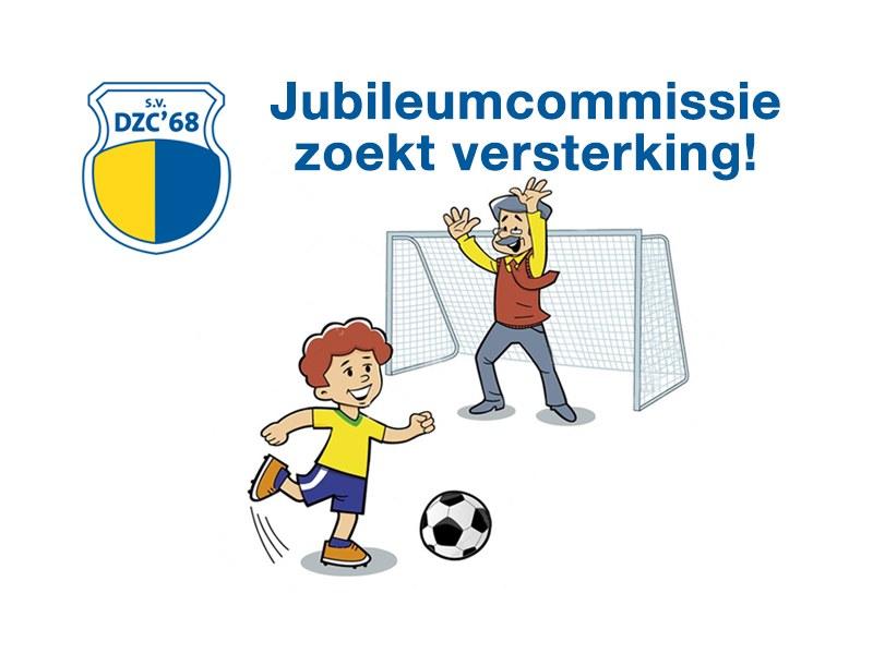 Jubileumcommissie van start - Versterking gezocht!