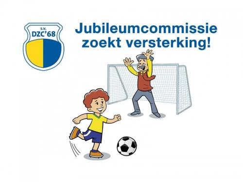 1. Jubileumcommissie van start - Versterking gezocht!