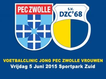 Voetbalclinic Jong PEC Zwolle Vrouwen