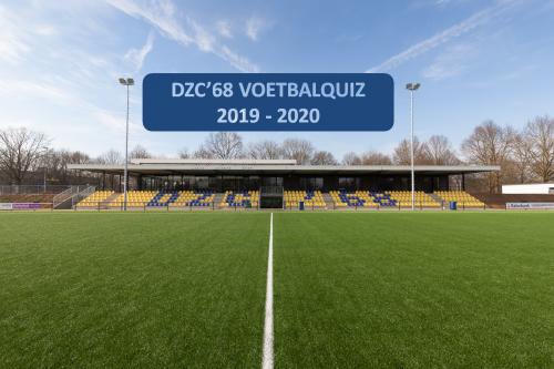 De 1e DZC'68 voetbalquiz
