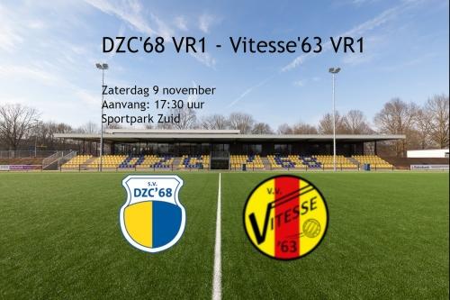 Voorbeschouwing DZC'68 VR1 - Vitesse'63 VR1