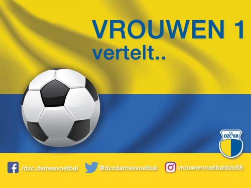 Wedstrijdverslag Vitesse'63 VR1 - DZC'68 VR1