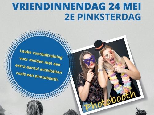VRIENDINNENDAG: voetbalfeest voor meiden!
