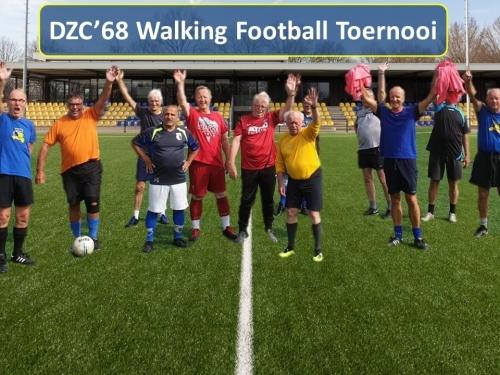 Walking Footbal Toernooi
