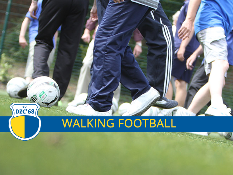 Walking Football bij DZC'68