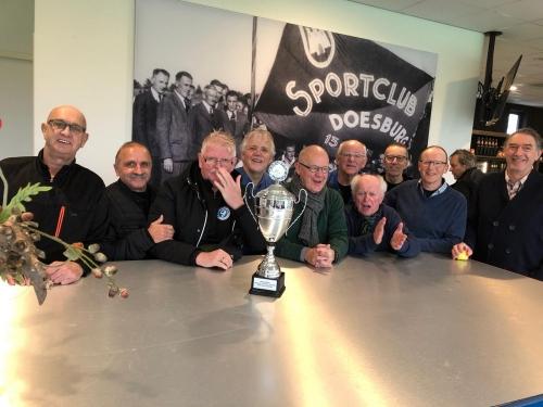 Walking football wint toernooi bij SC Doesburg