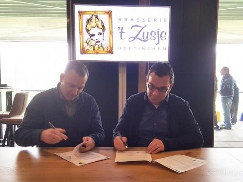 Brasserie 't Zusje Doetinchem sponsor DZC'68 Vrouwen 1