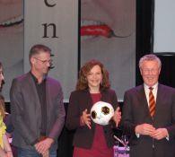 Aftrap Nationale Sportweek met minister van Volksgezondheid E.Schipper