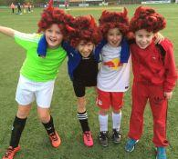 Foto's Halloween Voetbalfeest
