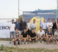 Presentatie hoofdsponsor REBO ERA Makelaars