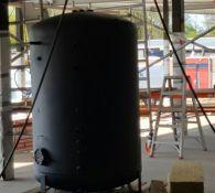 De nieuwe boiler