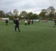 Impressie Walking Football 28 april