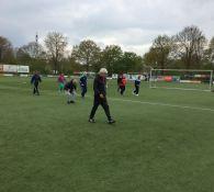Impressie Walking Football 28 april